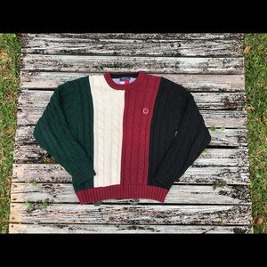 Vintage Heavy Tommy Hilfiger Sweater